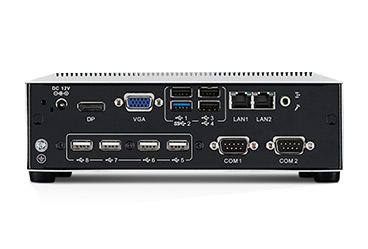 Computador embebido Intel Celeron Quad Core J1900 Fanless con Multiple I/Os y Expansion